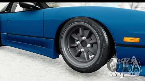Nissan 240SX 1989 v2 pour GTA San Andreas vue arrière