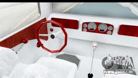 Unique V16 Fordor pour GTA San Andreas vue intérieure