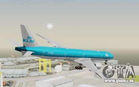 Boeing 777-300ER KLM - Royal Dutch Airlines v3 für GTA San Andreas linke Ansicht