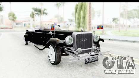 Unique V16 Phaeton VIP pour GTA San Andreas