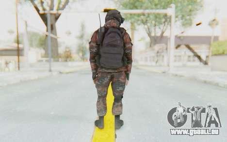 COD MW2 Russian Paratrooper v1 für GTA San Andreas dritten Screenshot