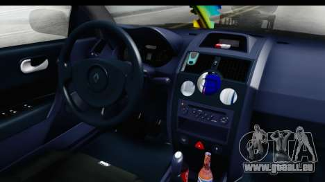 Renault Megane Sport für GTA San Andreas Innenansicht