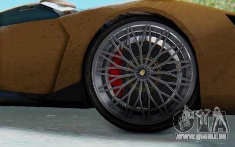 GTA 5 Pegassi Reaper SA Lights für GTA San Andreas zurück linke Ansicht