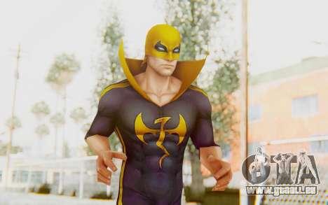Marvel Future Fight - Iron Fist (ANAD) für GTA San Andreas