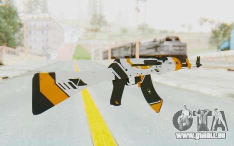 CS:GO - AK-47 Asiimov für GTA San Andreas zweiten Screenshot