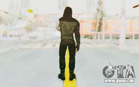 Bucky Barnes (Winter Soldier) v2 für GTA San Andreas dritten Screenshot