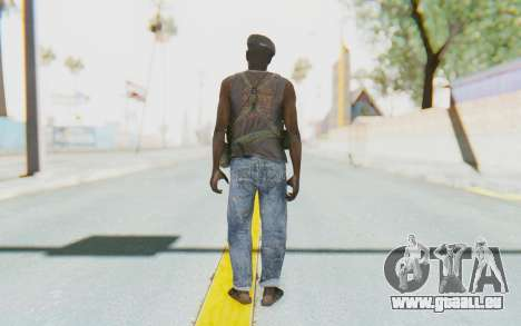 CoD MW3 Africa Militia v1 pour GTA San Andreas troisième écran
