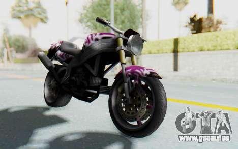 FCR-900 Custom v2 pour GTA San Andreas vue de droite