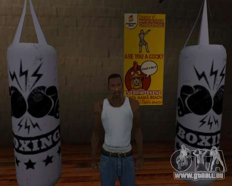 Poire De Boxe pour GTA San Andreas