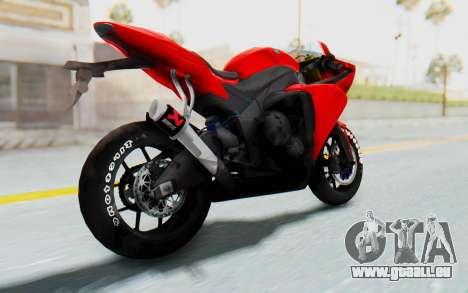 Yamaha YZF-R1 für GTA San Andreas linke Ansicht