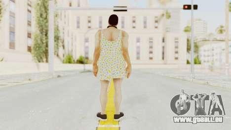 Dead Rising 2 Off The Record Frank West Dress pour GTA San Andreas troisième écran