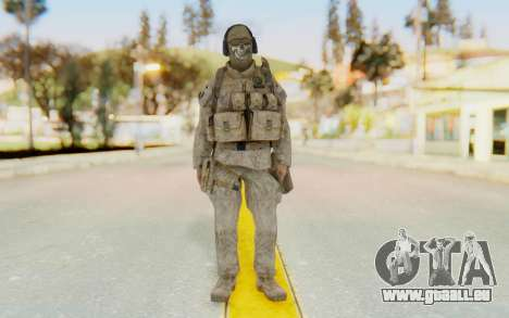 CoD MW2 Ghost Model v2 für GTA San Andreas zweiten Screenshot