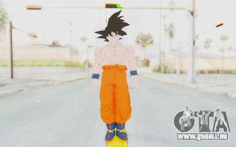 Dragon Ball Xenoverse Goku Shirtless SJ pour GTA San Andreas deuxième écran