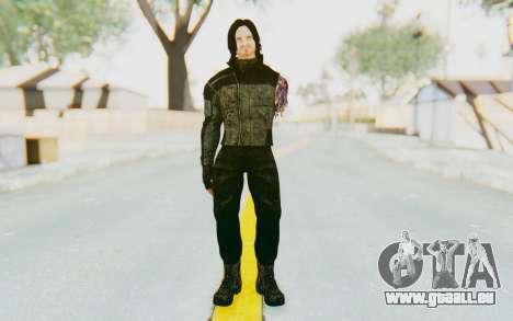 Bucky Barnes (Winter Soldier) v2 für GTA San Andreas zweiten Screenshot