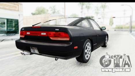 Nissan 240SX 1994 v2 pour GTA San Andreas laissé vue