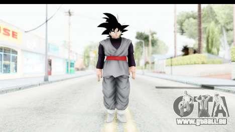 Dragon Ball Xenoverse Goku Black pour GTA San Andreas deuxième écran