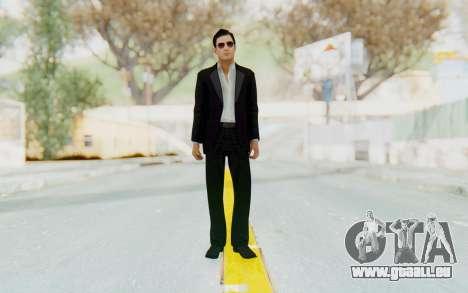 Mafia 2 - Vito Scaletta Madman Suit B&W pour GTA San Andreas deuxième écran