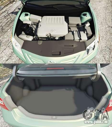GTA 5 Toyota Camry V40 2008 [tuning] rechte Seitenansicht
