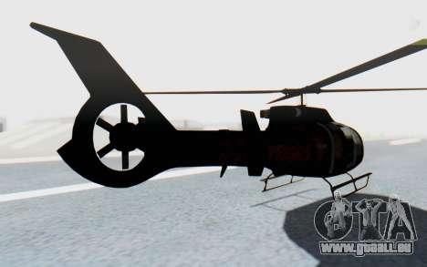 GTA 5 Maibatsu Frogger Trevor IVF pour GTA San Andreas laissé vue