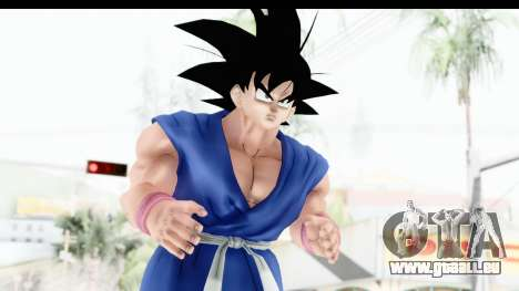 Dragon Ball Xenoverse Goku GT Adult SJ pour GTA San Andreas
