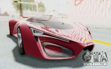 Ferrari F80 Concept pour GTA San Andreas vue de droite