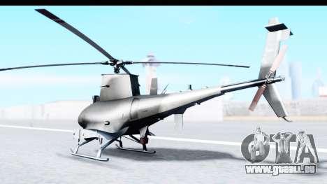 Northrop Grumman MQ-8B Fire Scout pour GTA San Andreas laissé vue