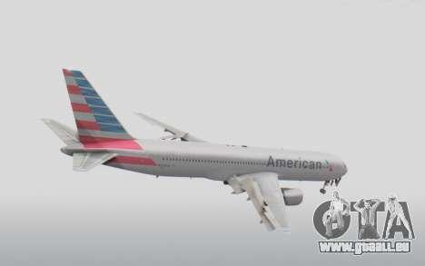 Boeing 767-300ER American Airlines pour GTA San Andreas vue de droite