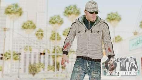 CrimeCraft - Londeners Gang Soldier 2 pour GTA San Andreas