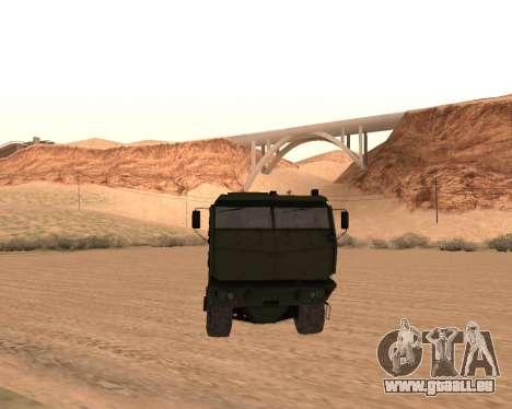 KAMAZ 63968 Typhon pour GTA San Andreas vue arrière