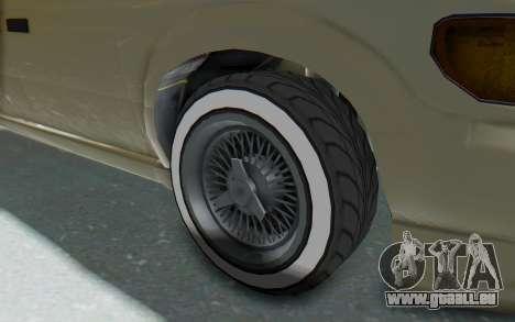 GTA 5 Vapid Minivan Custom without Hydro IVF für GTA San Andreas Rückansicht
