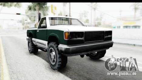Yosemite Truck für GTA San Andreas