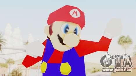Mario pour GTA San Andreas