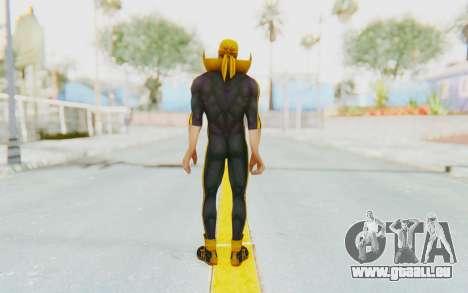 Marvel Future Fight - Iron Fist (ANAD) pour GTA San Andreas troisième écran