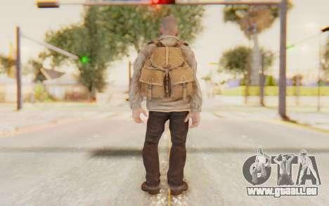 COD BO Russian Soldier v2 pour GTA San Andreas troisième écran