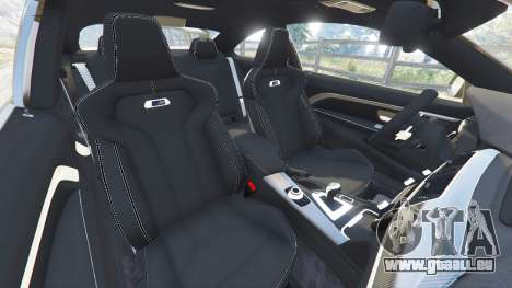 GTA 5 BMW M4 2015 v0.01 vorne rechts Seitenansicht