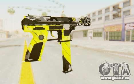 Tec-9 Neural Yellow für GTA San Andreas zweiten Screenshot