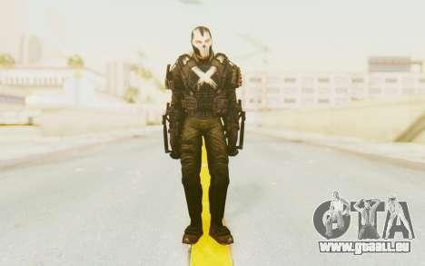Marvel Heroes - Crossbones pour GTA San Andreas deuxième écran