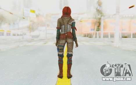The Witcher 3 - Triss Merigold WildHunt Outfit für GTA San Andreas dritten Screenshot