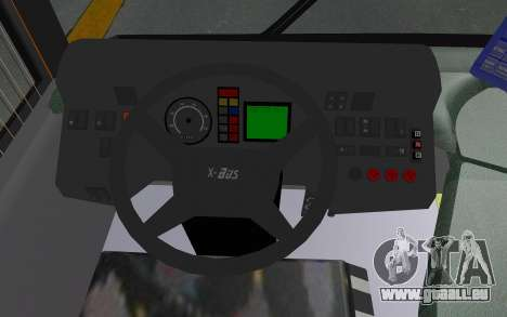 MAN Lion City 23267 für GTA San Andreas Innenansicht