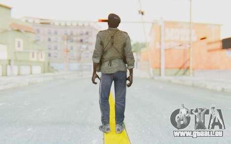CoD MW3 Africa Militia v4 pour GTA San Andreas troisième écran