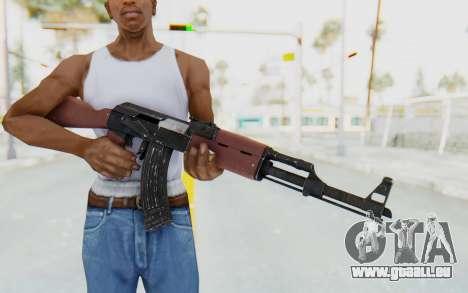 GTA 5 Shrewsbury Assault Rifle für GTA San Andreas