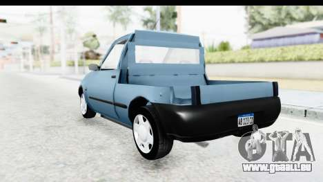 Ford Courier 2016 pour GTA San Andreas sur la vue arrière gauche
