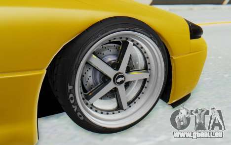 Mitsubishi 3000GT 1999 pour GTA San Andreas sur la vue arrière gauche