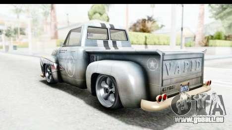 GTA 5 Vapid Slamvan without Hydro IVF für GTA San Andreas