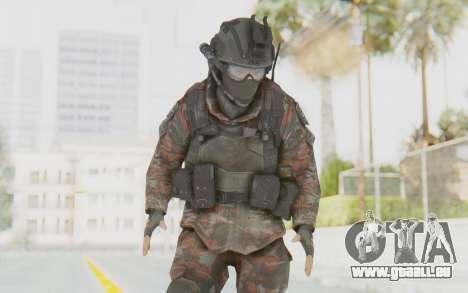 COD MW2 Russian Paratrooper v1 pour GTA San Andreas