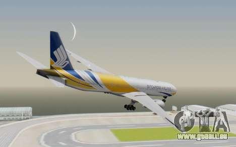 Boeing 777-300ER Singapore Airlines v2 pour GTA San Andreas laissé vue
