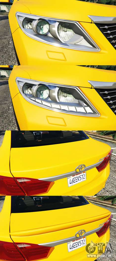 GTA 5 Toyota Camry V50 Lenkrad