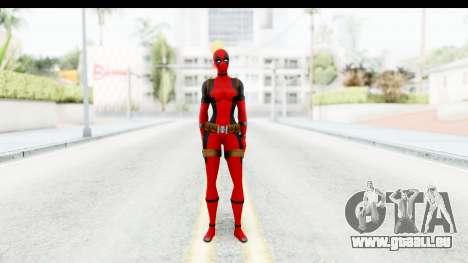 Marvel Heroes - Lady Deadpool für GTA San Andreas zweiten Screenshot