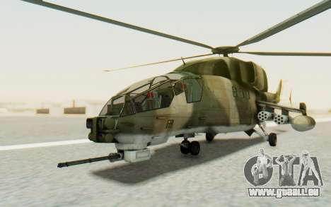 WZ-19 Attack Helicopter Asian für GTA San Andreas