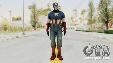 Captain America Super Soldier Classic für GTA San Andreas zweiten Screenshot